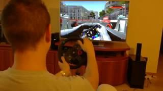 F1 2016 Codemasters (PS4 + Logitech G29) - Baku Hotlap