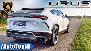 LAMBORGHINI URUS | PURE! SOUND | EXHAUST REVS ONBOARD & FLYBY by AutoTopNL