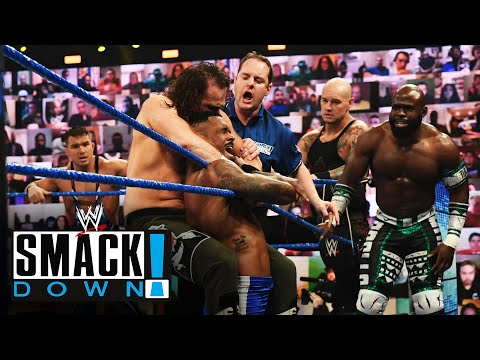 10-Man Tag Team Match: SmackDown, May 7, 2021