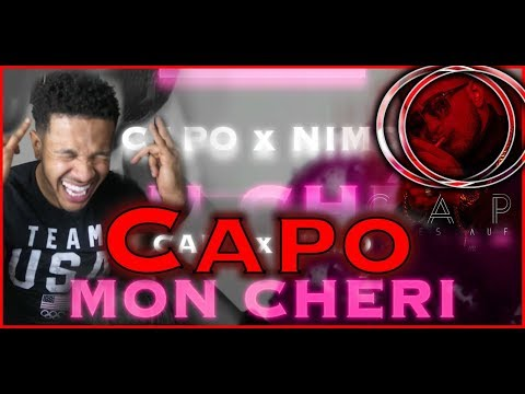 🇩🇪🔥 GERMAN RAP IS LIT! CAPO X NIMO - MON CHARI - REACTION 🇩🇪🔥