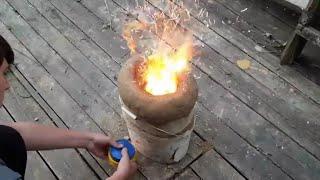 как сделать печь из глины в домашних условиях