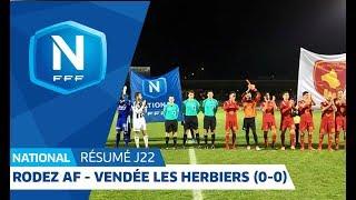 J22 : Rodez AF - Vendée Les Herbiers Football (0-0), le résumé