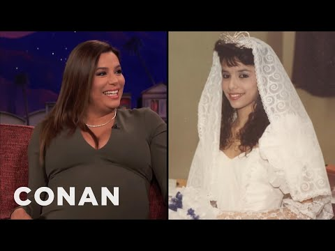 Eva Longoria Worked At Wendy's Illegally To Pay For Her Quinceañera   CONAN on TBS
