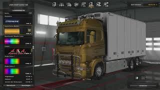 (Ets2 1.28)Scania RJL BKC Tandem