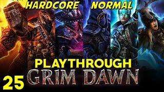 Darkvale Gate and Fort Haron - Grim Dawn - Hardcore Normal Cabalist Playthrough - 25