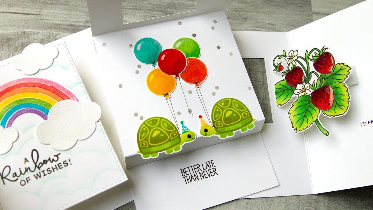 Pop-Up Window Cards - Jennifer McGuire Ink