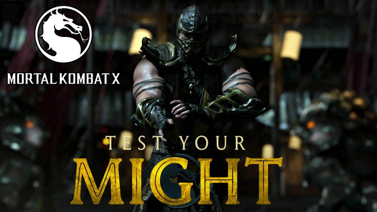 mortal kombat x test your might scorpion 1080p true hd quality rh youtube com