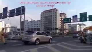 Xxx bắt lỗi đè vạch liền Cầu  vượt Phạm văn Đồng