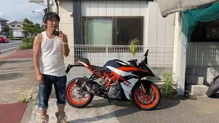 KTM RC390参考動画「トレリスフレームとトラスフレームの違いなど」