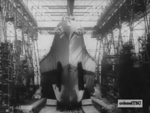 Battleship USS Iowa (BB-61) launched - 27 August 1942
