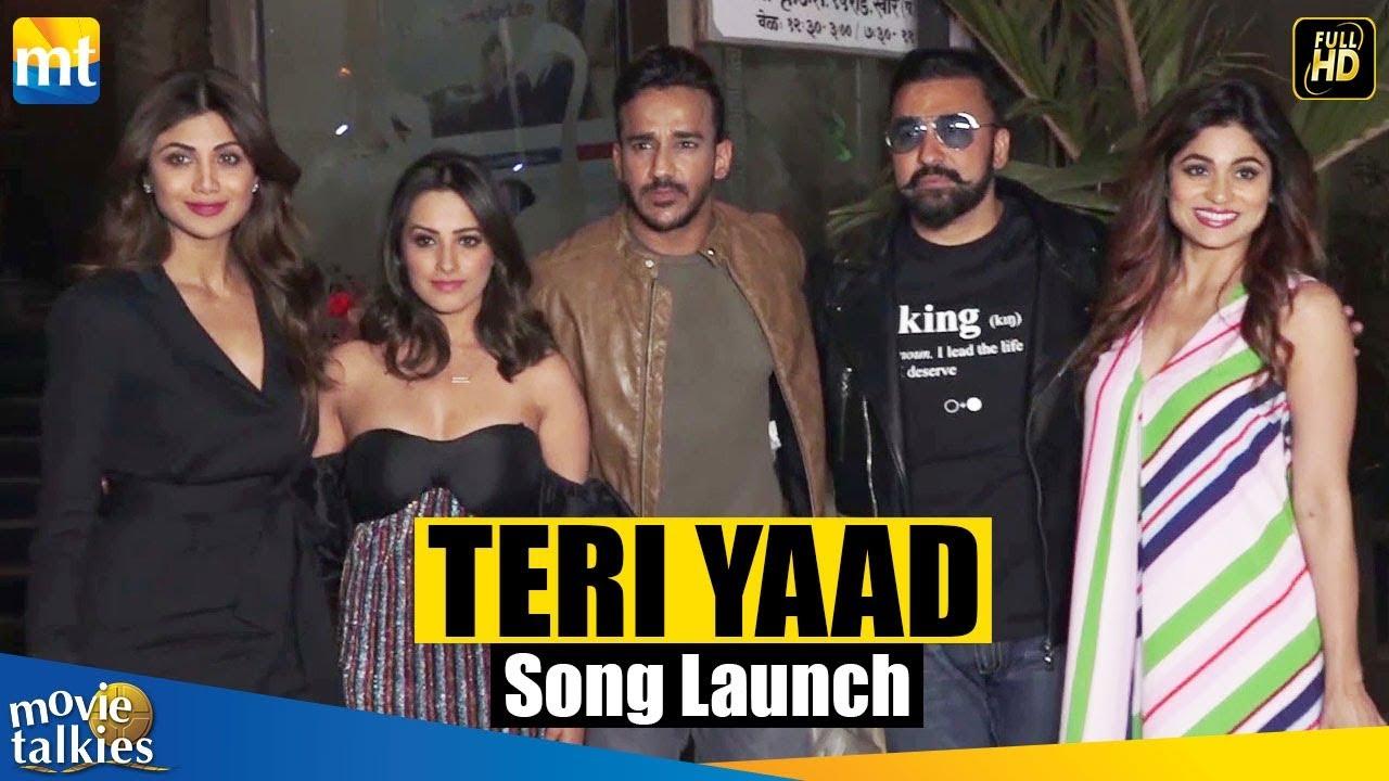 Teri Yaad Video Song Launch Party | Shilpa Shetty & Raj Kundra