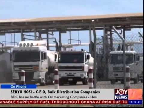 Fuel Supply in Ghana - News Desk (8-10-14)