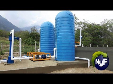 Planta de Tratamiento de Agua Potable (Sin Energía Eléctrica)