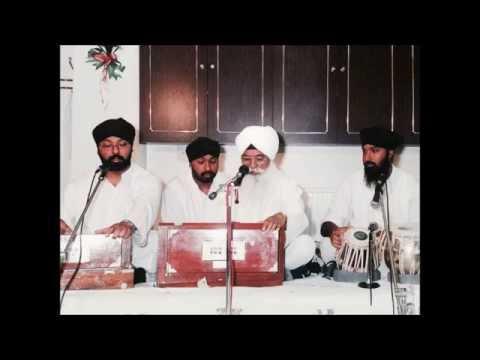 Bhai Gurdial Singh Rasia - Man Kahan Bisareyo (Raag Basant - Padtaal)