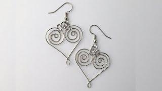 DIY Celtic Heart Earrings Tuto…
