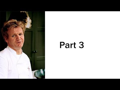 Gordon Ramsay Roasting Dishes On Twitter | Part III