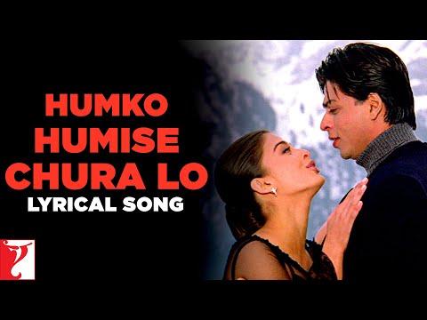 Lyrical: Humko Humise Chura Lo Song With Lyrics | Mohabbatein | Shah Rukh Khan | Anand Bakshi