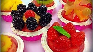 Fruit Cupcakes, 100% Fruits