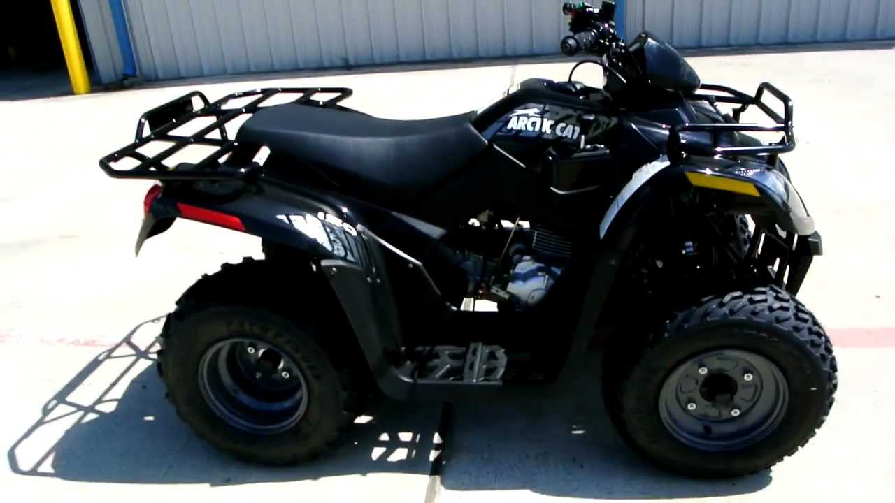 Review  2012 Arctic Cat 150 Youth Atv In Black