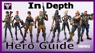 Fortnite How The Hero Tab Works | In Depth Guide