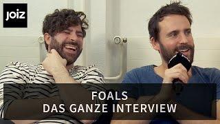 FOALS - DAS GANZE INTERVIEW
