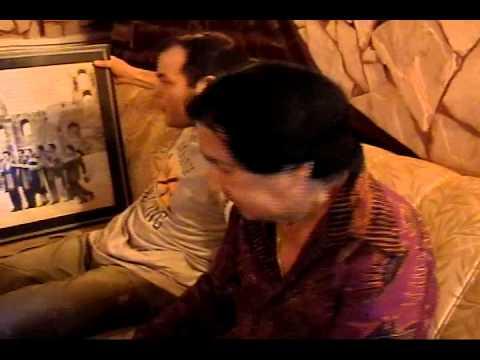 Juan Alfonso Ramirez, cuando le visitamos en su casa de Lambare