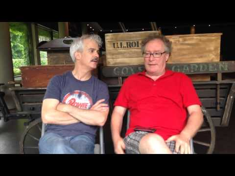 Patrick Galligan and Benedict Campbell talk about