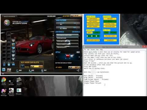 Need For Speed World Add Free Slots