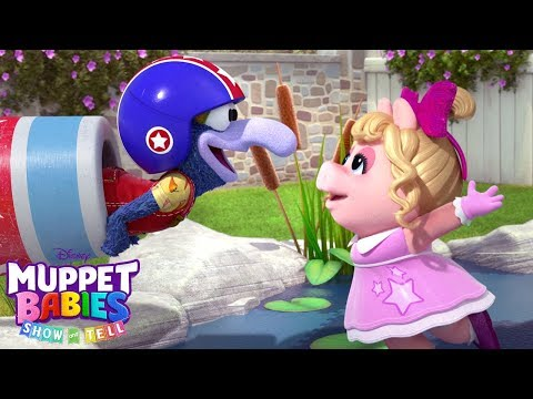 Piggy and Gonzos Show and Tell  Muppet Babies  Disney Junior
