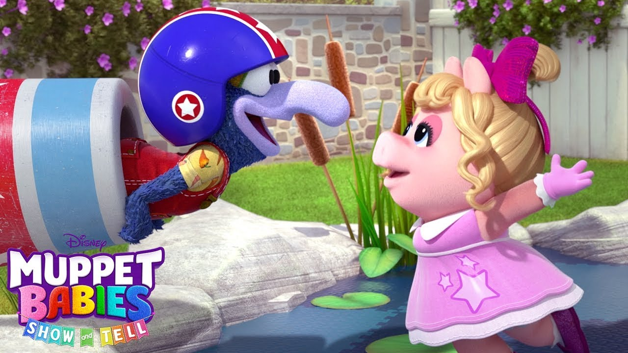 Download Piggy and Gonzo's Show and Tell   Muppet Babies   Disney Junior