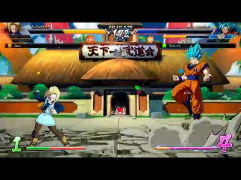 Dragon Ball Fighterz Casual Match Ibrownzz Green