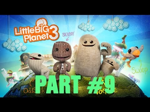 LittleBigPlanet 3 Part 9 crumbling crypt Gameplay lets play Walkthrough  Прохождение