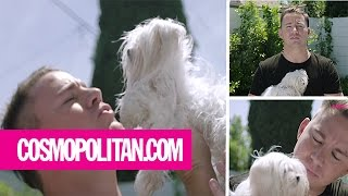 Channing Tatum Makes an Important Announcement... with Puppies! | Cosmopolitan