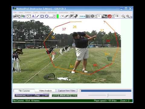 Golf like a Pro? Use MotionPro Golf Video Analysis Software for Amateurs or Instructors