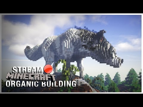 Live   Minecraft Organic Building!