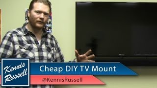 Diy Flat Screen Tv Wall Mount: Cheap!
