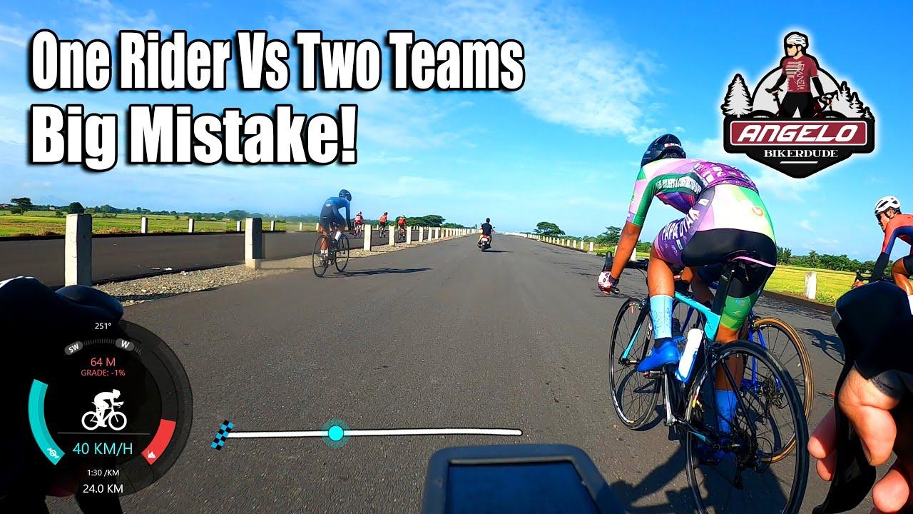 One Rider vs Two Teams. Paano Nya Nagawa Yun? CLLEX Race (October 2020)