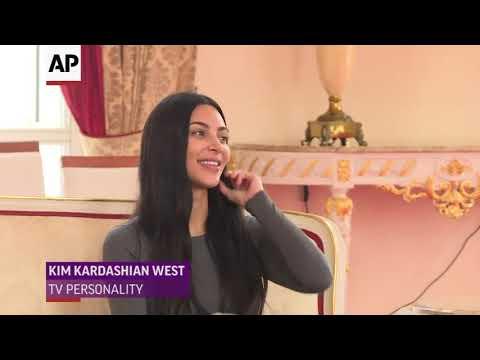 Kim and Kanye meet Uganda's president