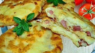 Сырные лепешки делаем за 15 минут(По этому рецепты сможете приготовить вкусные сырные лепешки за 15 минут, в данном случае для начинки лепешек..., 2015-04-13T11:46:12.000Z)