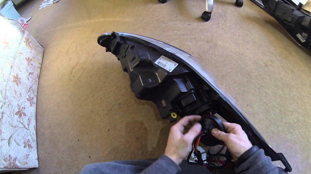 Ford Fiesta Mk7 Headlight Wiring Diagram 7 Pin Trailer Plug Au Fitting Hid S Youtube