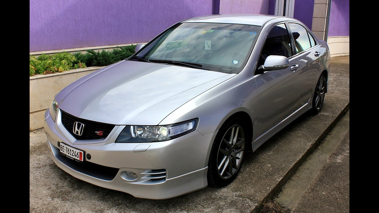 Charming Honda Accord 2.4i Type S 190hp 2006   YouTube