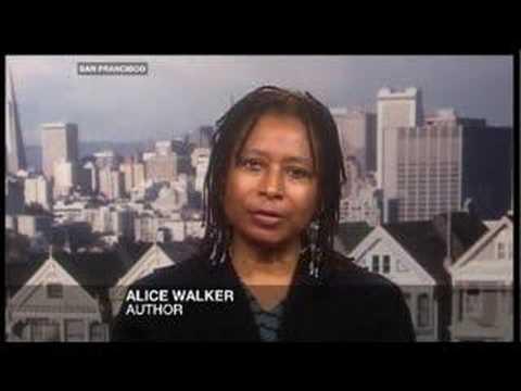 Riz Khan - Alice Walker - 15 Oct 07