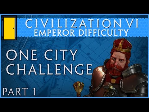 Civilization 6 - Emperor Difficulty One City Challenge - Part 1: A Land of Plenty