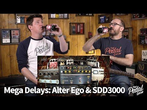 That Pedal Show – Mega Delays Part 2.1: TC Alter EgoX4 & Korg SDD3000