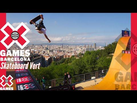 X Games Barcelona 2013 SKATEBOARD VERT: X GAMES THROWBACK