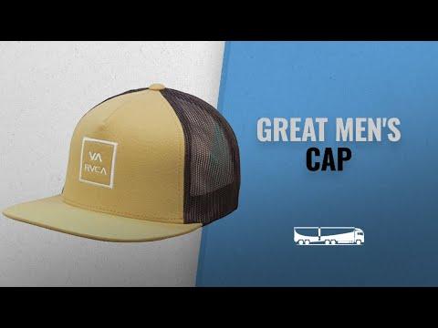 various colors d03dc 66d01 Men s Rugged Updates  Hats   Caps  Fall 2018   RVCA Men s Va All The Way  Mesh Back Trucker Hat,  MensFashion