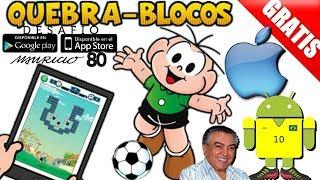Cebolinha Quebra blocos Android/ios trailer+Analise+Review+Gameplay download Free/gratis