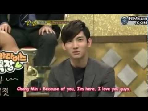 [HD][ENG](TVXQ CUT) Changmin & His Fans.... Part.2