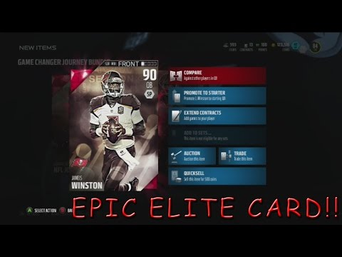 NFL JOURNEY COMPLETED! + GAMECHANGER PACK OPENING l MADDEN 16 MUT 16