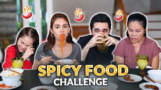 SPICY FOOD CHALLENGE! | IVANA ALAWI
